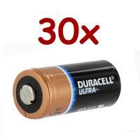 30 x Lithium Battery 3v 1400 mah | DL123A