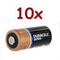 10 x Lithium Battery 3v 1400 mah | DL123A