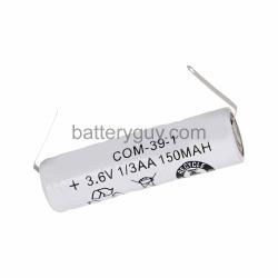 Nickel Cadmium Thermostat Battery, 3.6v 150mAh | BG-COMP39-1 (Rechargeable)