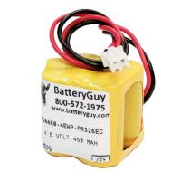 Nickel Cadmium Battery 4.8v 400mah | BGN450-4EWP-PR326EC (Rechargeable)