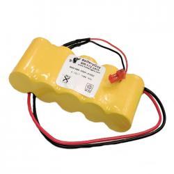 Nickel Cadmium Battery 6v 1800mah | BGN1800-5DWP-41REC (Rechargeable)