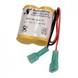 Nickel Cadmium Battery 2.4v 1100mah | BGN1100-2DWP-FP (Rechargeable)
