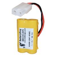 Nickel Cadmium Battery 2.4v 900mah | BGN800-2DWP-9030EC (Rechargeable)