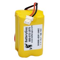 Nickel Cadmium Battery 4.8v 900mah with 500EC Connector | BGN800-4EWP-500EC (Rechargeable)