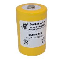 Nickel Cadmium Battery 1.2v 5000mah | BGN5000B (Rechargeable)