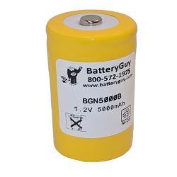 Nickel Cadmium Battery 1.2v 5000mah   BGN5000B (Rechargeable)