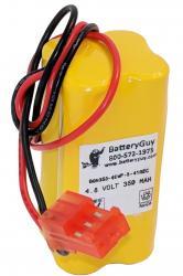 Nickel Cadmium Battery 4.8v 350mah | BGN350-4EWP-3-41REC (Rechargeable)