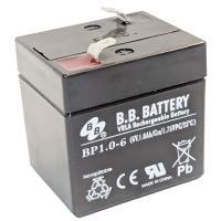 B.B. BATTERY BP1.0-6 | Rechargeable SLA Battery 6v 1Ah