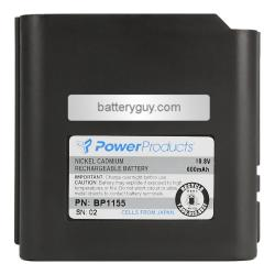 10.8 volt 600 mAh NiCd Two Way Radio Battery for M/A-COM - BG-BP1155 (Rechargeable)