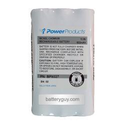 10.8 volt 600 mAh NiCd Two Way Radio Battery for Motorola - BG-BP9027 (Rechargeable)