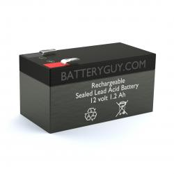 12v 1.2Ah Rechargeable Sealed Lead Acid Battery | BG-1212F1