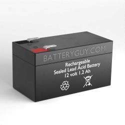 12v 1.2Ah Rechargeable Sealed Lead Acid Battery | BG-1212F1
