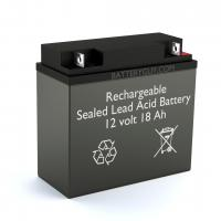 12v 18Ah Rechargeable Sealed Lead Acid Battery | BG-12180NB