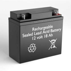 This is an AJC Brand Replacement B/&B BP17-12 12V 18Ah UPS Battery