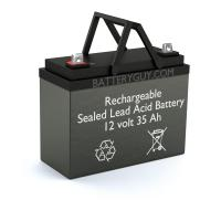 12v 35Ah Rechargeable Sealed Lead Acid (Rechargeable SLA) Battery | BG-12350NB