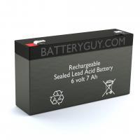 6v 7Ah Rechargeable Sealed Lead Acid (Rechargeable SLA) Battery | BG-670