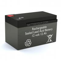 12v 12Ah Rechargeable Sealed Lead Acid (Rechargeable SLA) Battery | BG-12120F2