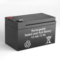 12v 12Ah Rechargeable Sealed Lead Acid (Rechargeable SLA) Battery | BG-12120F2