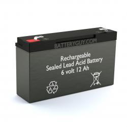 6v 12Ah Rechargeable Sealed Lead Acid (Rechargeable SLA) Battery   BG-6100F1
