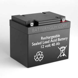 12v 40Ah Rechargeable Sealed Lead Acid (Rechargeable SLA) Battery | BG-12400NB