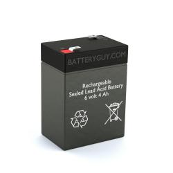 6v 4.0Ah Rechargeable Sealed Lead Acid (Rechargeable SLA) Battery - Bulk Discount