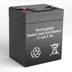 12v 5Ah Rechargeable Sealed Lead Acid (Rechargeable SLA) Battery - Bulk Discount
