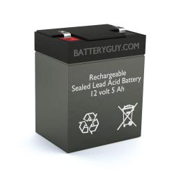 12v 5Ah Rechargeable Sealed Lead Acid (Rechargeable SLA) Battery - Bulk Discount