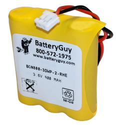 Nickel Cadmium Battery 3.6v 900mah | BGN800-3DWP-2-RHE (Rechargeable)