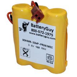 Nickel Cadmium Battery 3.6v 900mah | BGN800-3DWP-PRB830EC (Rechargeable)