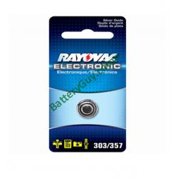 Rayovac Watch Battery 357 (1 Pack) 1.5v