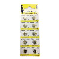 Micro Alkaline Coin Cell Battery 1.55v 190mah | L736 (Qty of 10 on Card)