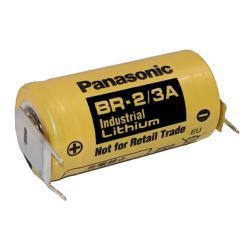 BR-2/3AE2SP Lithium 3 Pin Circuit Board Battery 3v 1200mah