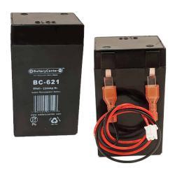 BG-621F1 | Rechargeable SLA Battery 6v 2.0Ah