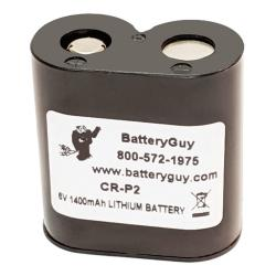 CRP2 Camera/ Industrial Lithium Battery 6v 1400mAh