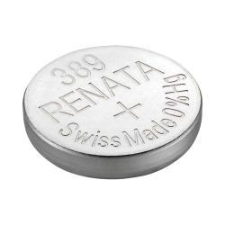 Renata 389 1.55 volt 85mah Silver Oxide Coin Battery