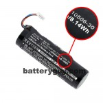 Lithium-ion battery showing Watt-hour rating