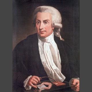 Oil painting of Luigi Galvani