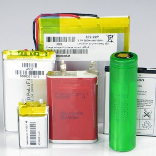 Various lithium-ion battery types